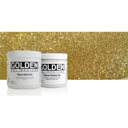 Golden Gel with Aggregates