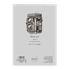 SM.LT authenticpad Coil Bristol Sketch A4 185gsm 50shts **ND**