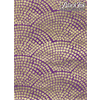 Paper Gold Pavers - gold/purple **ND**