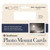 "Strathmore Cards Photo Mount White/Decorative Border 5""x6.875"" 10pk"