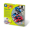 Fimo Kids Modelling Clay Play Set Police Race