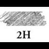 Kimberly Premium Graphite Drawing Pencil (525-2H) *T*