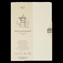 SM.LT authenticpad Folder Sketch Natural A4 100gsm 100shts **ND**