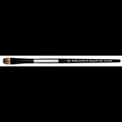 Brush Black Silver SH Filbert Size 6