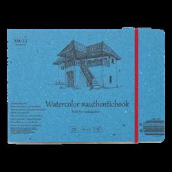 SM.LT authenticpad Album Watercolor 24.5cm x 176cm 280gsm 12shts **ND**