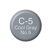 Copic Ink and Refill C5 Cool Grey 5 *ND*