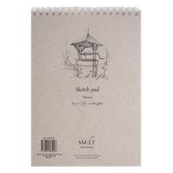 SM.LT authenticpad Coil Sketch Natural A3 100gsm 100shts **ND**