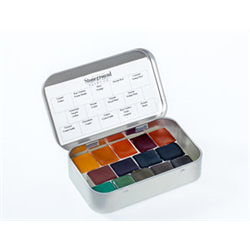 Stoneground Watercolour Palette - 14pc Earth **ND**