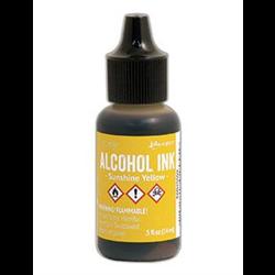 Ranger Tim Holtz Alcohol Ink 14ml Sunshine Yellow **ND**