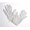 Grafix Urban Edge White Vinyl Gloves 10 Pack (5 Pairs)
