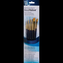 Brush Set 9139 Real Value Series - Golden Taklon Set of 5 brushes