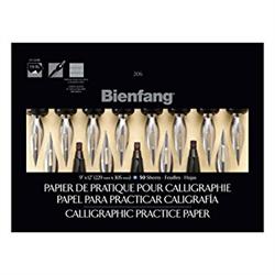 Bienfang Calligraphy Practice Pad 206 9x12