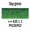 Additional images for Van Gogh Watercolour 10ml Tube Sap Green