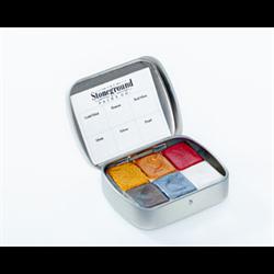 Stoneground Watercolour Palette - 6pc Metallic **ND**