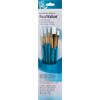 Brush Set 9174 Real Value Series - White Taklon Set of 5 brushes
