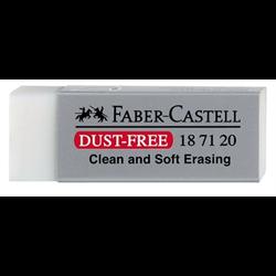 Eraser Faber Castell Dust-Free White Vinyl