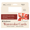 "Strathmore Cards Watercolor CP 140lb 5"" x 6.875"" 10pk"