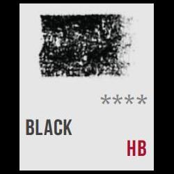 Conte Sketching Crayon Black HB 234093