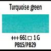 Van Gogh Watercolour 10ml Tube Turquoise Green