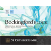 "Bockingford Watercolour Block 140lb CP White 12"" x 16"" (12 sheets) **ND**"