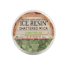 Ranger Ice Resin Shattered Mica Chartreuse **ND**