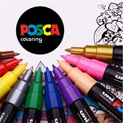 POSCA Acrylic Markers