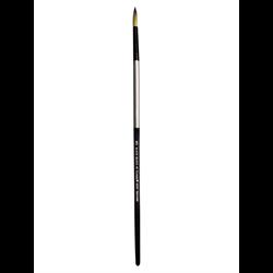 Brush Black Silver LH Round 20