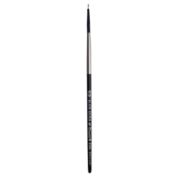 Brush Black Silver SH Short Liner 5/0