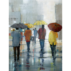 """Rain Showers"" Advanced Acrylic Class with Wendy Kroeker, April 18th"