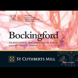 "Bockingford Watercolour Pad 140lb HP White 5"" x 7"" (12 sheets) **ND**"