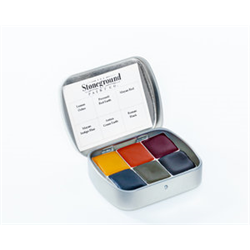 Stoneground Watercolour Palette - 6pc Autumn **ND**