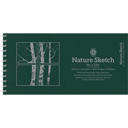Pentalic Nature Sketch Drawing Book