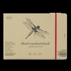 SM.LT authenticpad Album Sketch Cream 24.5cm x 176cm 80gsm 36shts **ND**