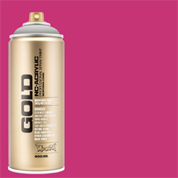Montana GOLD Spray Shock Pink - 400ml **ND**