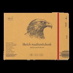 SM.LT authenticpad Album Sketch Kraft 24.5cm x 176cm 90gsm 24shts **ND**