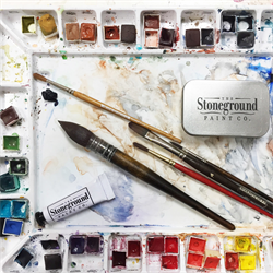 Stoneground Watercolour Paint