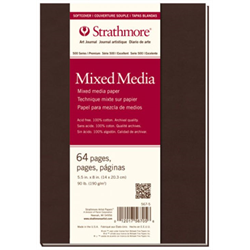 500 Series Mixed Media Softcover Art Journal