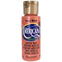 Americana Acrylic Coral Blush 2oz**ND**
