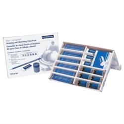 Staedtler Lumograph Class pk - 150 Pencils/25 Erasers/6 Sharpeners [100 CP150] *