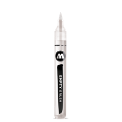 Molotow 211 1MM EMPTY PUMP SOFTLINER - BRUSH TIP **ND**