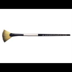 Brush Black Silver SH Fan 6