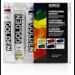 Golden Heavy Body Acrylic Sets