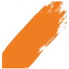 Speedball Acrylic Screen Printing Ink Orange 8oz.