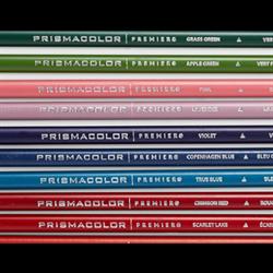 Prismacolor Coloured Pencils