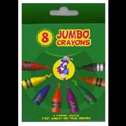 Montrose Jumbo Crayons 8 Count
