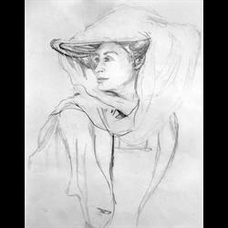 3-wk Portraiture Drawing Class with Wanda Dombek, April 1 -15