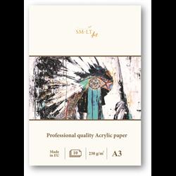 SM.LT Pro Acrylic Paper A4 420gsm 10shts **ND**