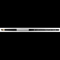 "Brush Black Silver SH Dearfoot 1/8"""