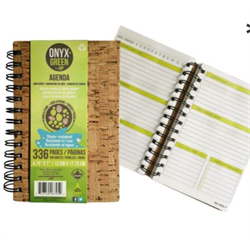 Onyx + Blue Cork Agenda 4.75 x 7
