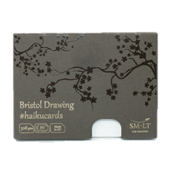 SM.LT Haiku Cards Bristol Drawing 308gsm 20shts **ND**
